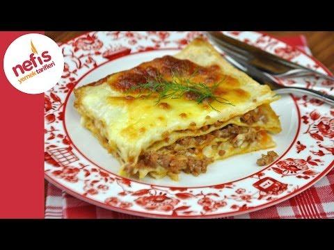 Lazanya Tarifi   Nefis Yemek Tarifleri