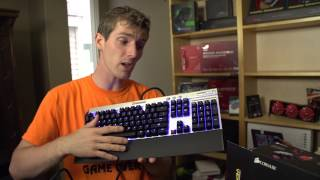 Corsair Vengeance K70 Unboxing & Overview