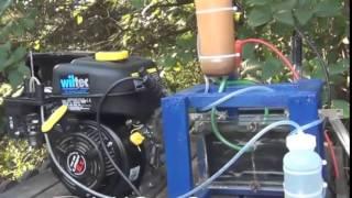 تشغيل مولد الكهرباء على خلية هيدروجينية ( غاز الهيدروجين )