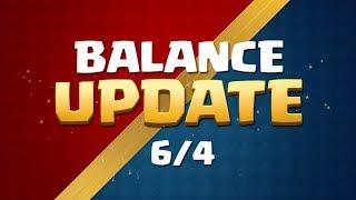 Clash Royale: Balance Update Live! (6/4)
