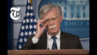 Why John Bolton Wants a Fringe Group to Rule Iran | NYT News