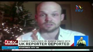 British reporter Jerome Starkey deported from Kenya in unclear circumstances