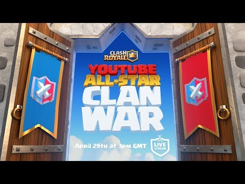 Xxx Mp4 Clash Royale YouTube All Star 5v5 Clan War 3gp Sex