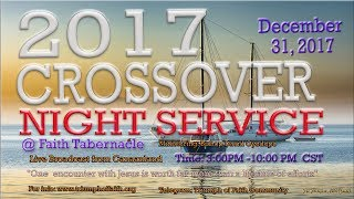2017  Crossover Night Service, December  31, 2017