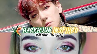 EXO - KO KO BOP  Baekhyun Tutorial de Maquillaje #THEWAR  |Cecie