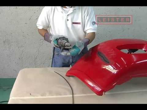 Leister LDM Reparación Automotriz Reparación de Plásticos