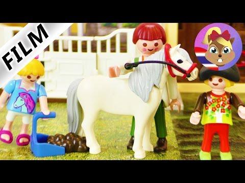 นิทานเพลย์โมบิล ตอน ฮันนามาเรียนขี่ม้าครั้งที่สองแล้วนะ