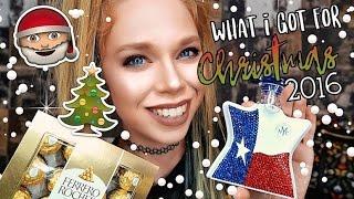 WHAT I GOT FOR CHRISTMAS 2016 - GRAV3YARDGIRL