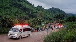 Thailand Rescue: Two Boys EMERGE from Cave