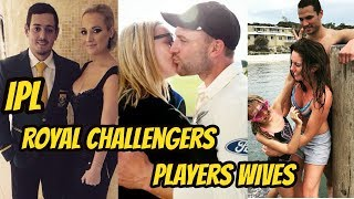 IPL Royal Challengers Bangalore Cricket Player Wives 2018 || Salary Auction