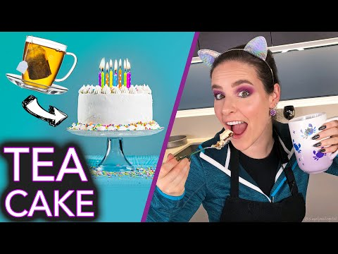 Baking a Cake with TEA no nail polish