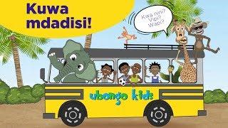 Kuwa Mdadisi na Ubongo Kids! | Katuni za elimu burudani kwa Kiswahili