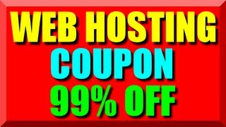 Web Hosting Coupon Code 2017 - Best Cheap Website Hosting Coupon Host Unlimited Domain Names