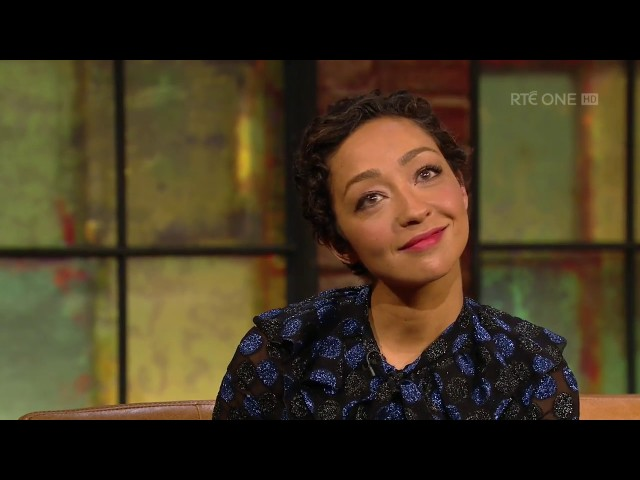Ruth Negga on being mocked in the UK for her soft Irish 'T' | The Late Late Show | RTÉ One