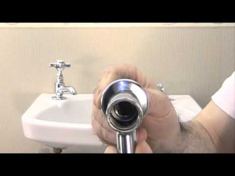How to reseat  a water tap to stop the drip.