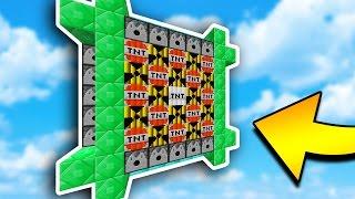 CRAZIEST MODDED TNT WARS EVER... (Minecraft)