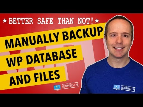 Xxx Mp4 How To Manually Backup WordPress MySQL Database Files And Folders WP Learning Lab 3gp Sex