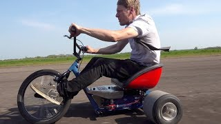20,000 Watt Drift Trike