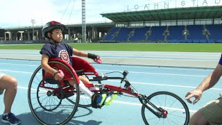 Meet an 8-year-old wheelchair racer with Scholastic News