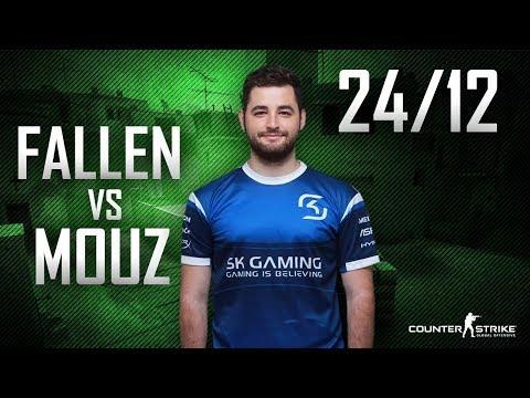 CS:GO POV FalleN vs mousesports | 24/12 (Mirage) @ ESL Pro League S5 Finals