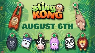 SLING KONG - iOS / Android - Gameplay Trailer