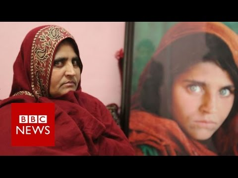 Afghan green eyed girl on her future BBC News