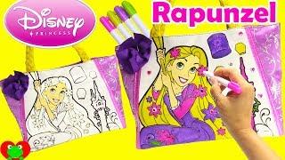 Disney Princess Rapunzel Tangled Purse Coloring and Num Noms