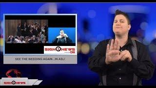 5.19.18 - News for the deaf community powered by CNN in American Sign Language (ASL).