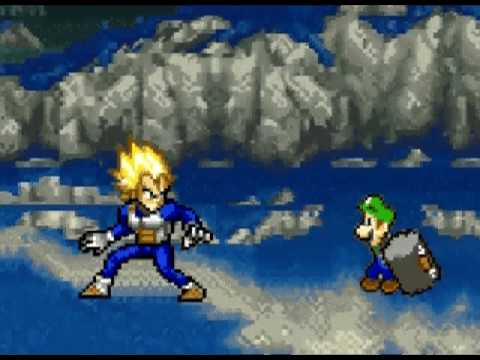 Goku VS Mario Part 2