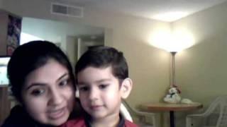 Baby speaking hindi