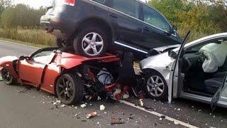 مقاطع خطيرة جدا | حوادث سيارات