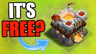 Clash Of Clans | FREE TOWN HALL 11!?! .... EPIC TROLL BASE 2016!