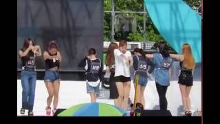 150809 Behind the scenes  T ara So Crazy in Sokcho show
