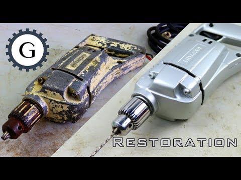 Xxx Mp4 Electric Drill Restoration Very Old Hitachi Drill Restoration 3gp Sex