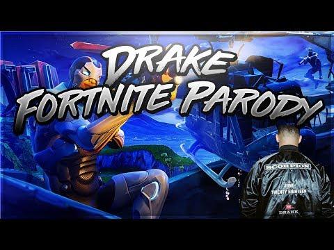 Drake Cant Take A Joke Fortnite Parody