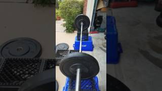 My version on a diy portable weight bench