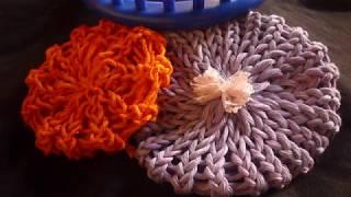 طريقةعمل وردة سهلة بالنول الدائري للمبتدئين Flower Loom