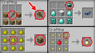 ✔ Minecraft: 10 Crafting Recipes That Changed