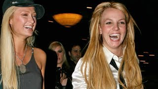 Britney Spears And Paris Hilton Cause Chaos In The Casino While Partying In Vegas [2006]