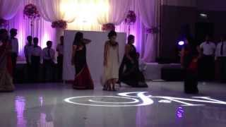 Jan and Nikhil's Wedding Reception: Bride's Side Family Dance