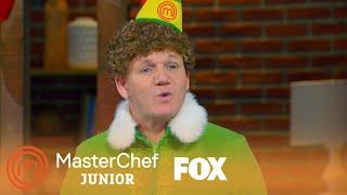 The Gingerbread Man Arrives | Season 5 Ep. 10 | MASTERCHEF JUNIOR