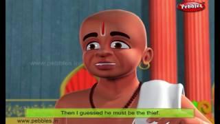The Lost Ring | Moral Stories of Tenali Raman For Kids | 3D Tenali Raman Stories in English