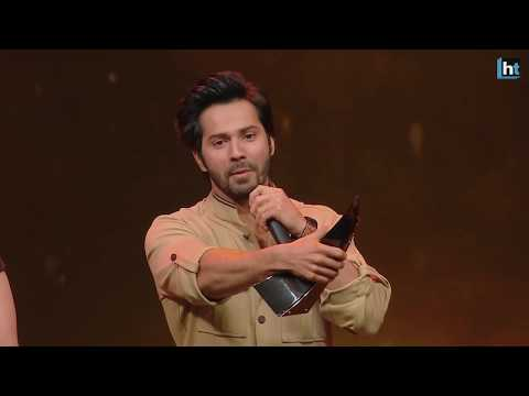 Xxx Mp4 HT India S Most Stylish 2018 Varun Dhawan Wins The Most Stylish Youth Icon Male Award 3gp Sex