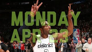 NBA Daily Show: Apr. 23 - The Starters