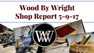 Report, Sliding dovetail, Shop Lights, Shout out, Hand Works, Sholder Plane, Giveaway Wood By Wright
