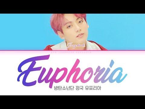 BTS 방탄소년단 JUNGKOOK 정국 Euphoria Color Coded Lyrics Han Rom Eng 가사