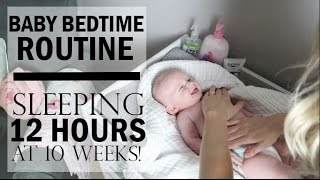 BEDTIME ROUTINE FOR BABY 2017/ SLEEPING THROUGH THE NIGHT / NIGHTTIME ROUTINE