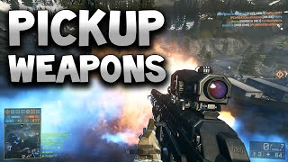 Battlefield 4 Pickup Weapons - Skill Weapons