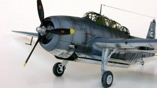 "Accurate Miniatures TBM-1C ""George Bush"" Avenger Model Build @ SMKR"