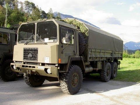 Swiss Army SAURER 6DM